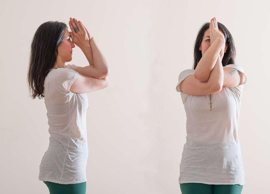 Garudasana Arms | Live Yoga Now