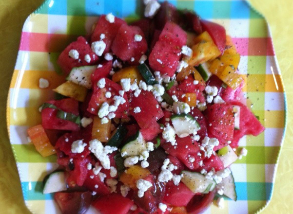 Melon and Maters   Yoga and Nutrition