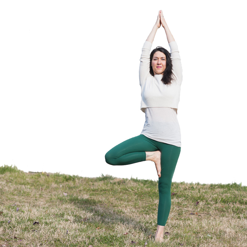 Letitia Walker | Tree Pose | Purna Yoga Asheville, NC
