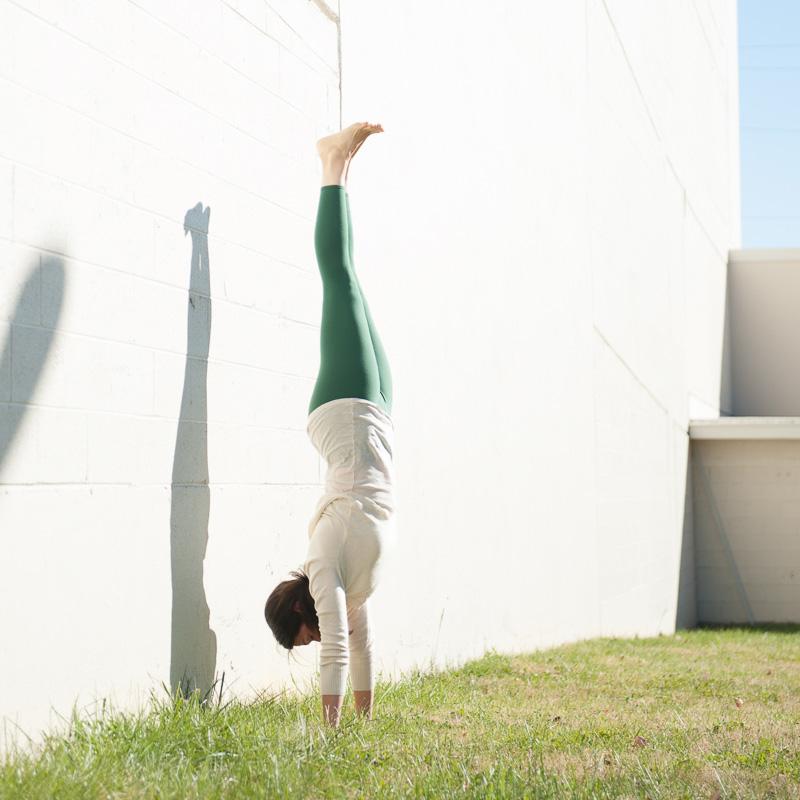 Letitia Walker | Handstand | Purna Yoga Asheville, NC