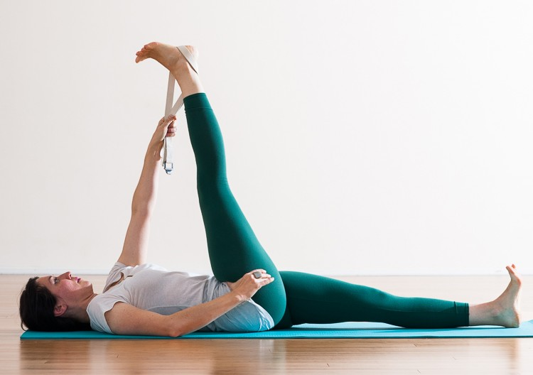 Parivrtta Supta Padangusthasana | Purna Yoga Hip Series by Aadil Palkhivala