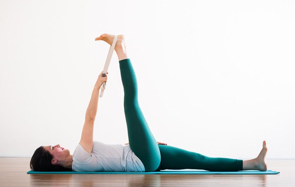 Supta Padangusthasana Flexion | Purna Yoga Hip Series by Aadil Palkhivala