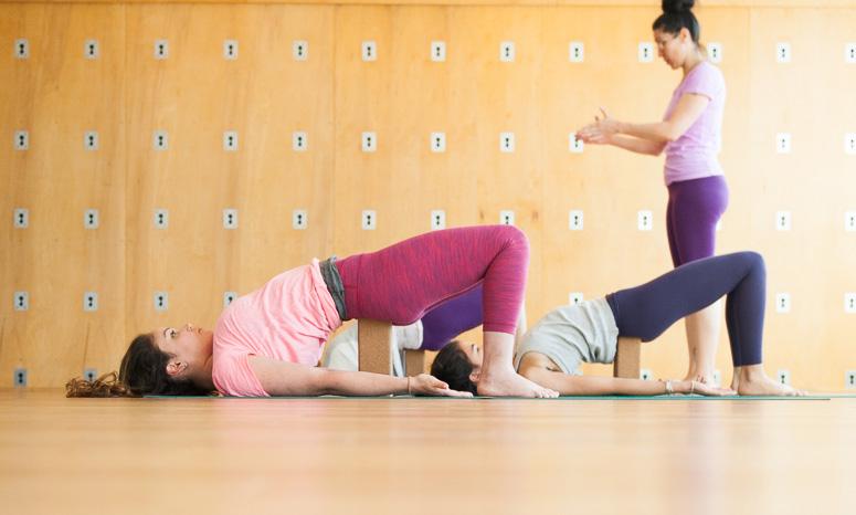 Setu Bandha | Bridge Pose | Purna Yoga Asheville, NC