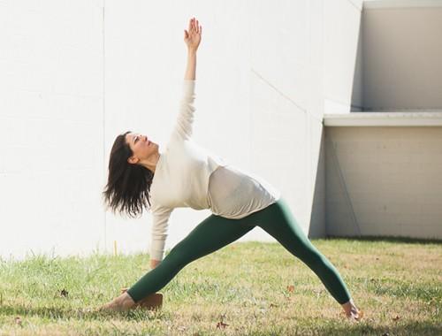 Trikonasana |Triangle Pose | Purna Yoga