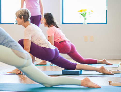 Vanarsana |Low Lunge | Purna Yoga Asheville, NC