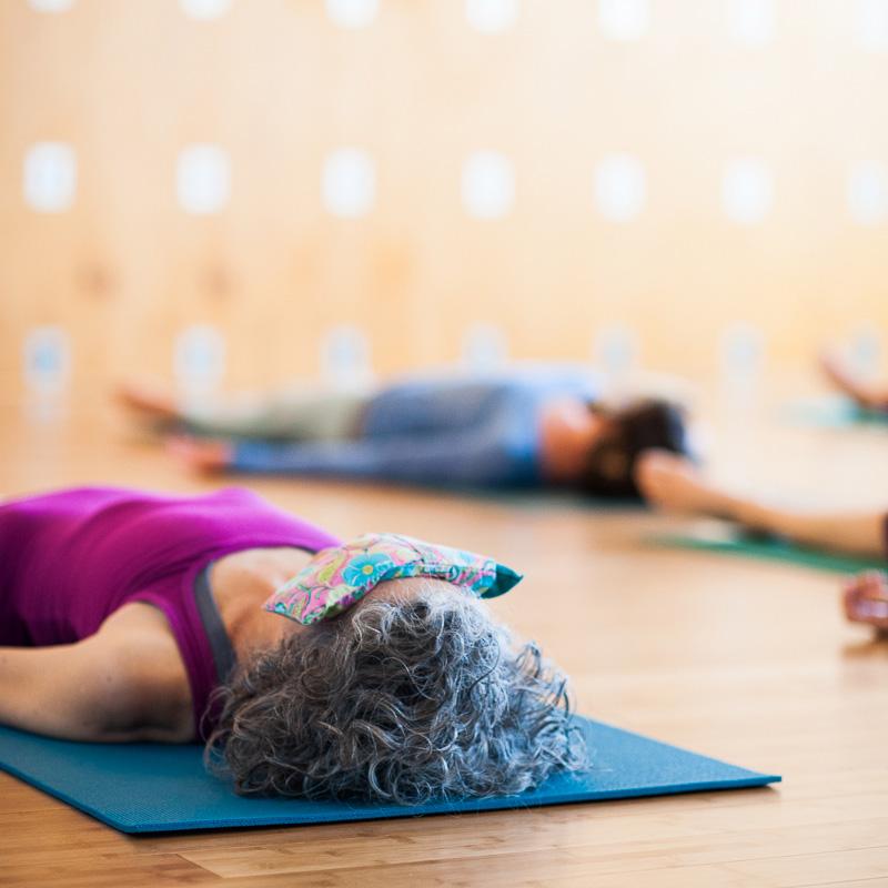 Shavasana   Eyebag   Purna Yoga