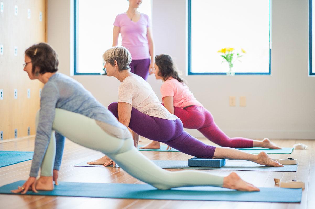 Vanarsana | Low Lunge | Purna Yoga Asheville, NC