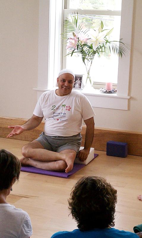Aadil at Purna Yoga East   Live Yoga Now