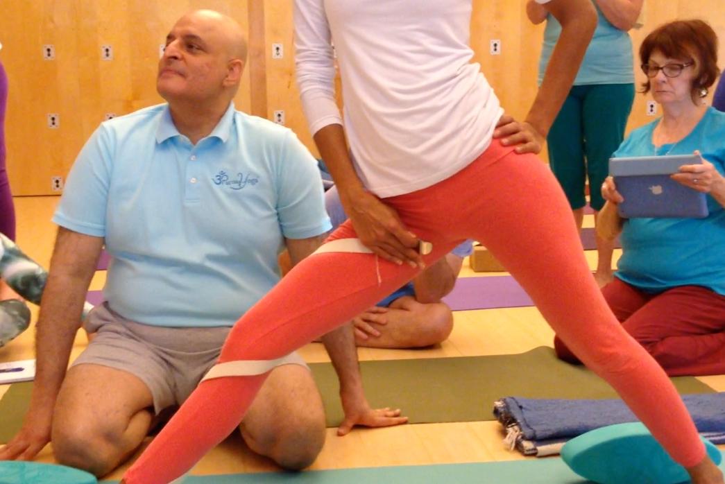 Studying with Aadil Palkhivala   Live Yoga Now
