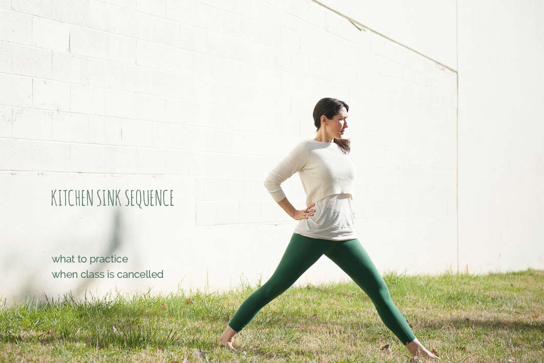 Kitchen Sink Sequence | Live Yoga Now