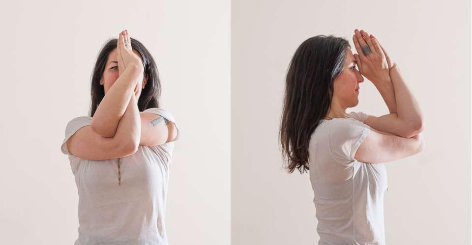 Garudasana Arms   Live Yoga Now