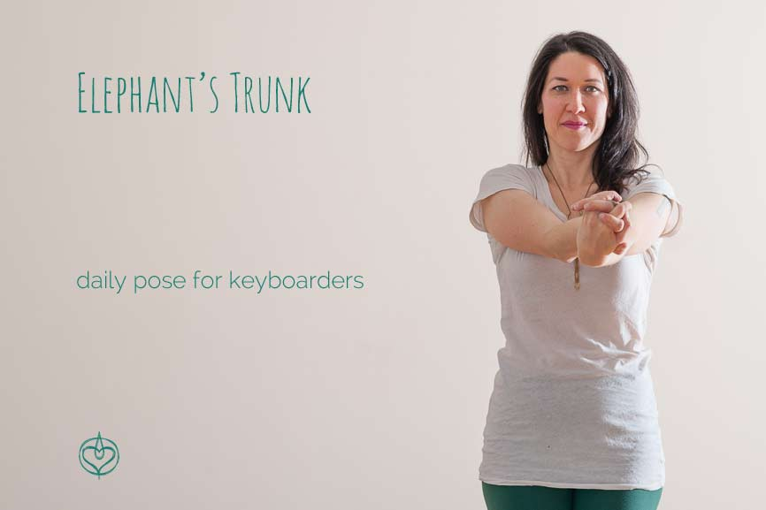 Daily Pose for Keyboarders | Live Yoga Now