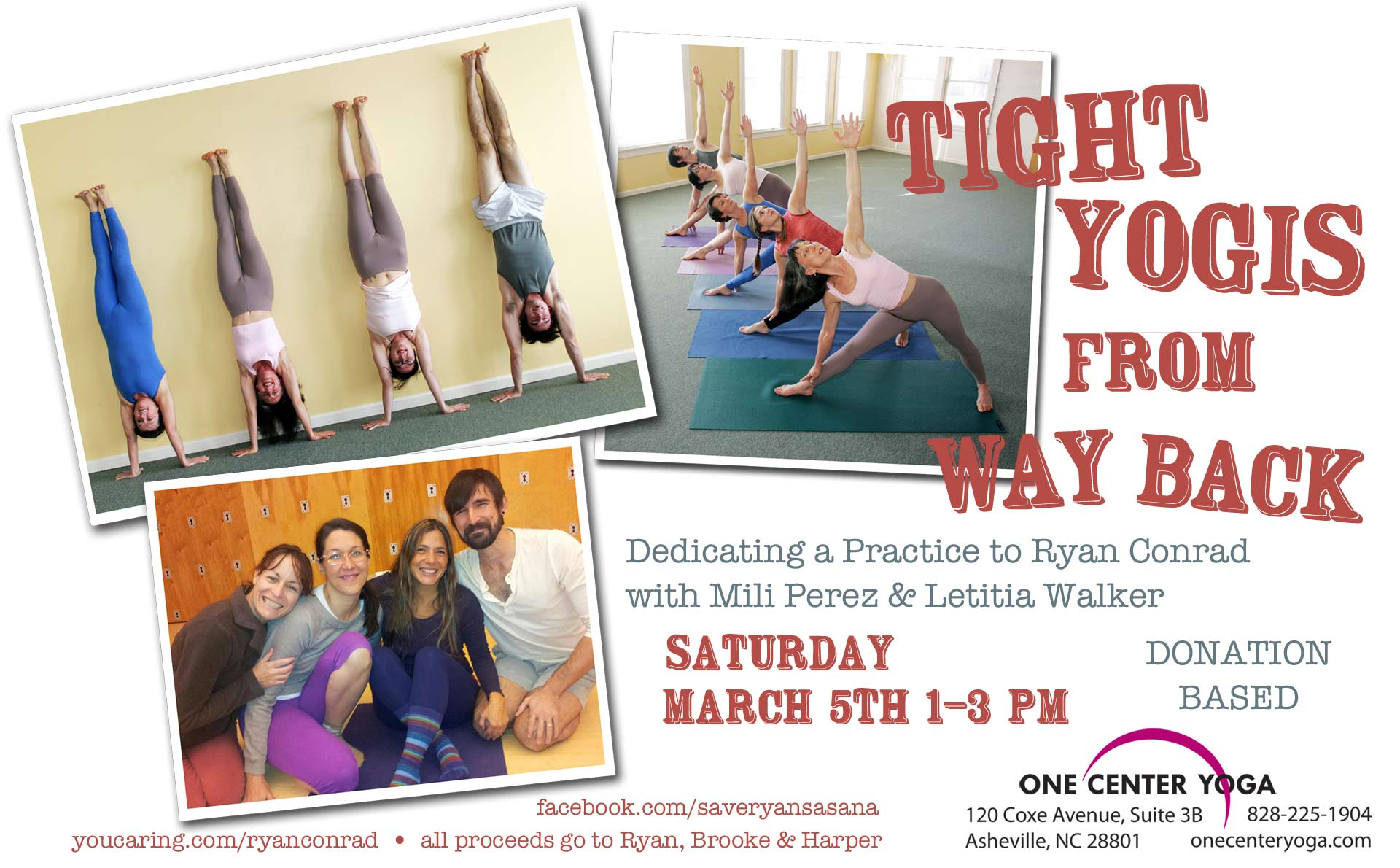 Benefit for Ryan Conrad | Live Yoga Now
