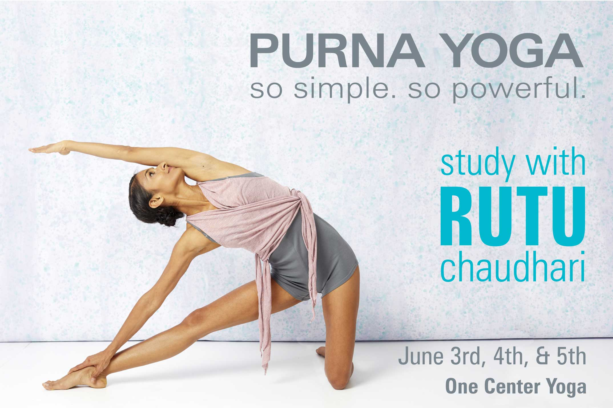Rutu Chaudhari Purna Yoga Weekend | Live Yoga Now
