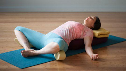 Supta Baddha Konasana |Live Yoga Now