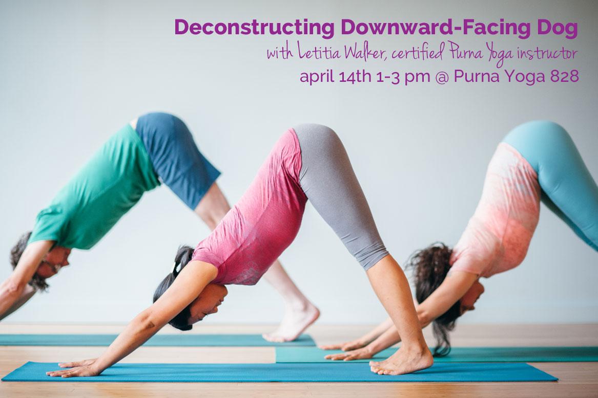 Deconstructing Downward Facing Dog | Purna Yoga 828