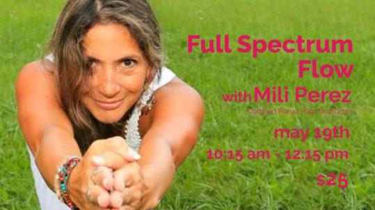 Full Spectrum Flow with Mili   Live Yoga Now