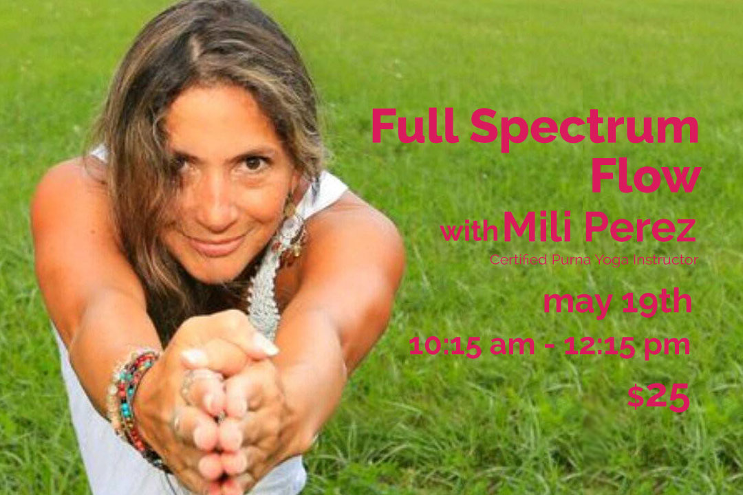 Full Spectrum Flow with Mili | Live Yoga Now