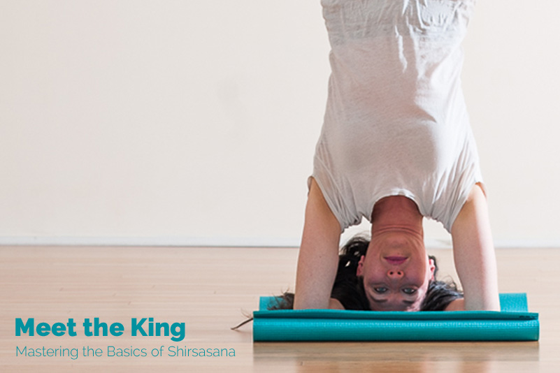 Meet the King: Mastering the Basics of Headstand | Purna Yoga 828