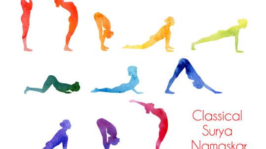 Classical Surya Namaskar | Purna Yoga 828