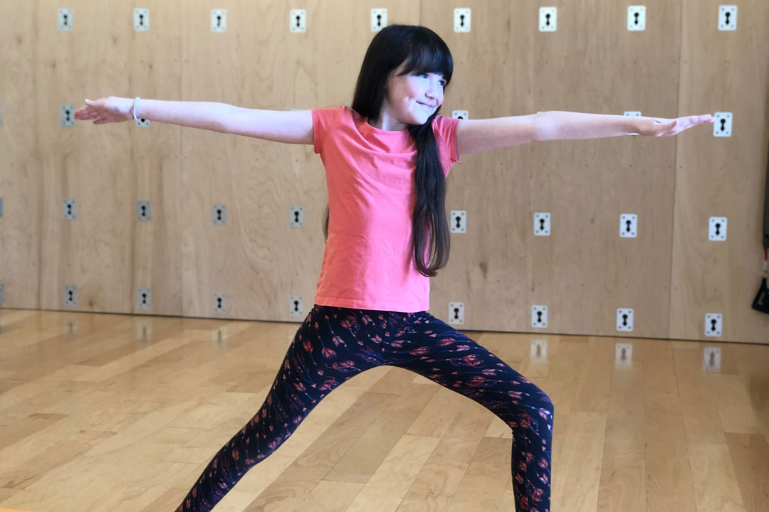 Kid's Yoga Pose