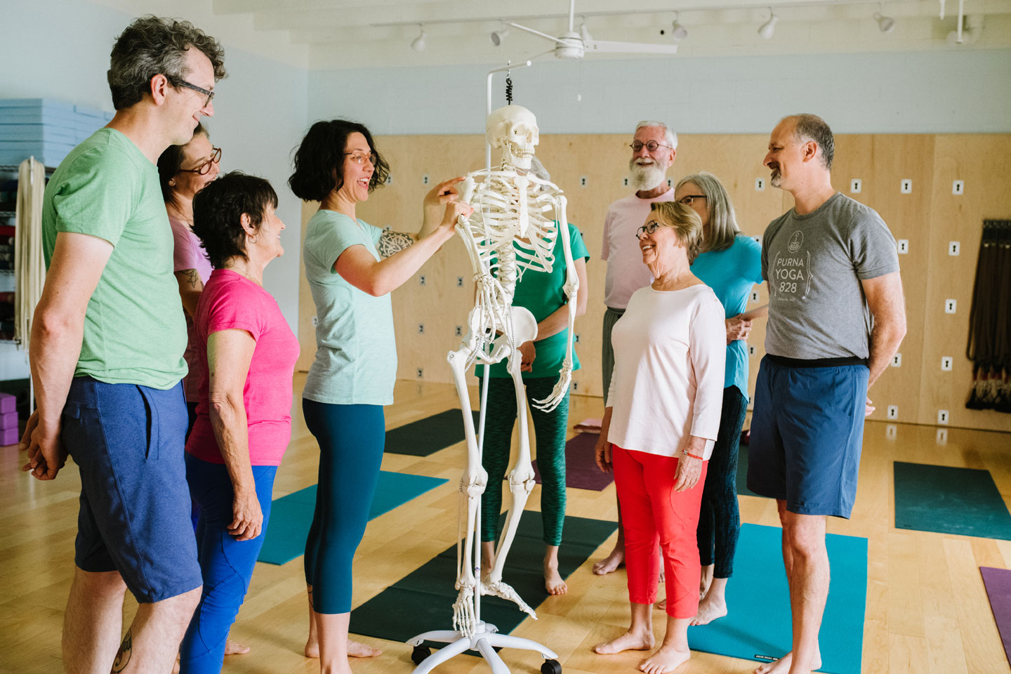 Learning Anatomy | Purna Yoga 828