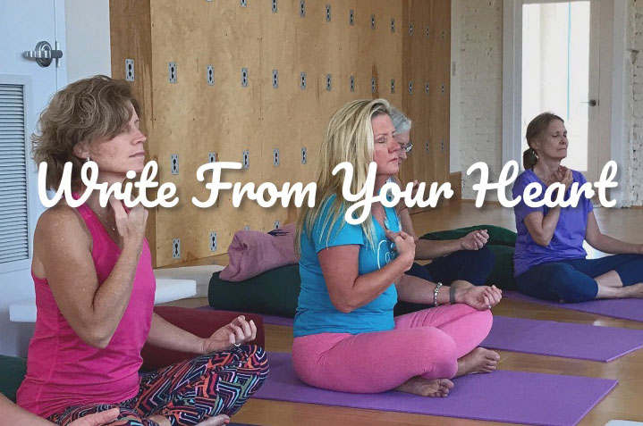 Write From Your Heart | Purna Yoga 828