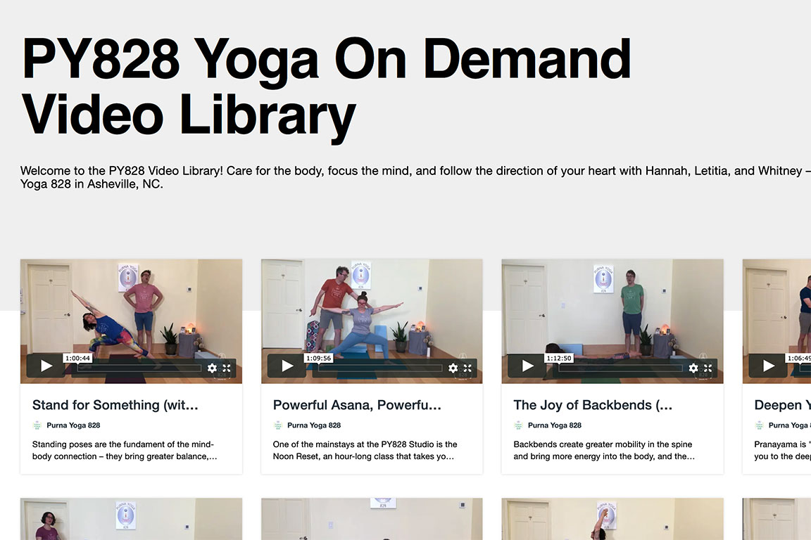 PY828 Video Library | Purna Yoga 828