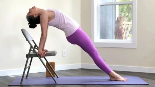 Yoga for Upper Back Strengthening   Purna Yoga 828